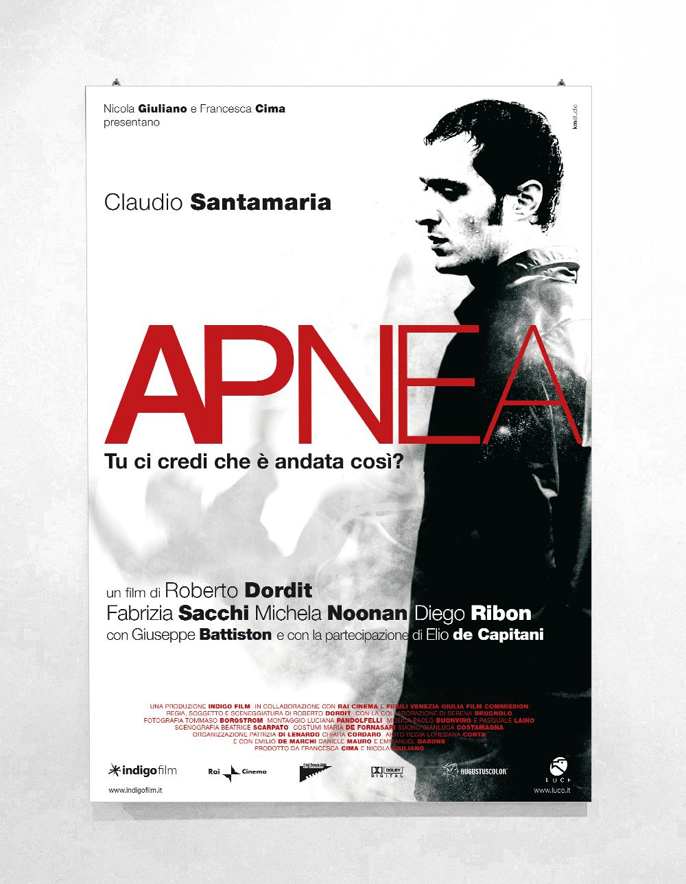 APNEA regia di Dordit con Claudio Santamaria