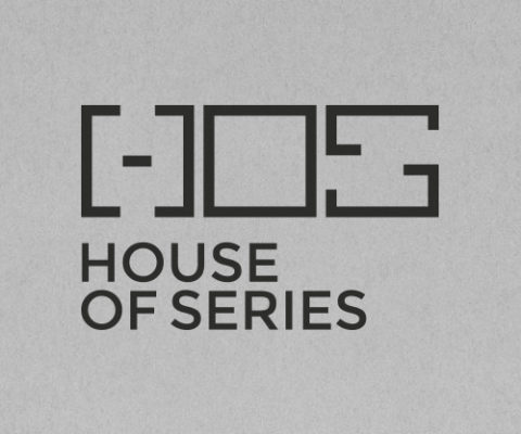 hos - house of series logo design