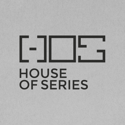 hos - house of series logo design