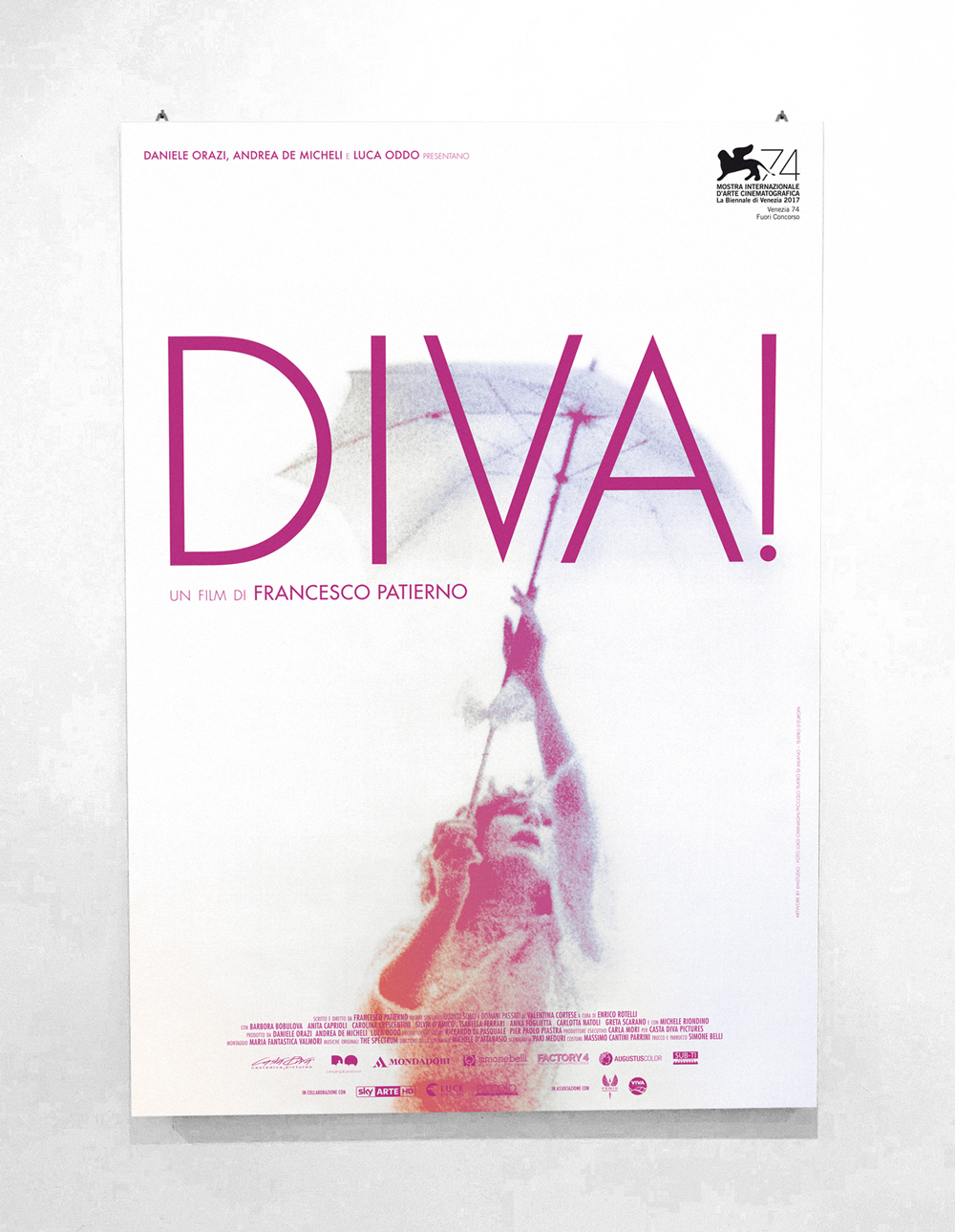Diva - Directed by Francesco Patierno - Official Italian Poster