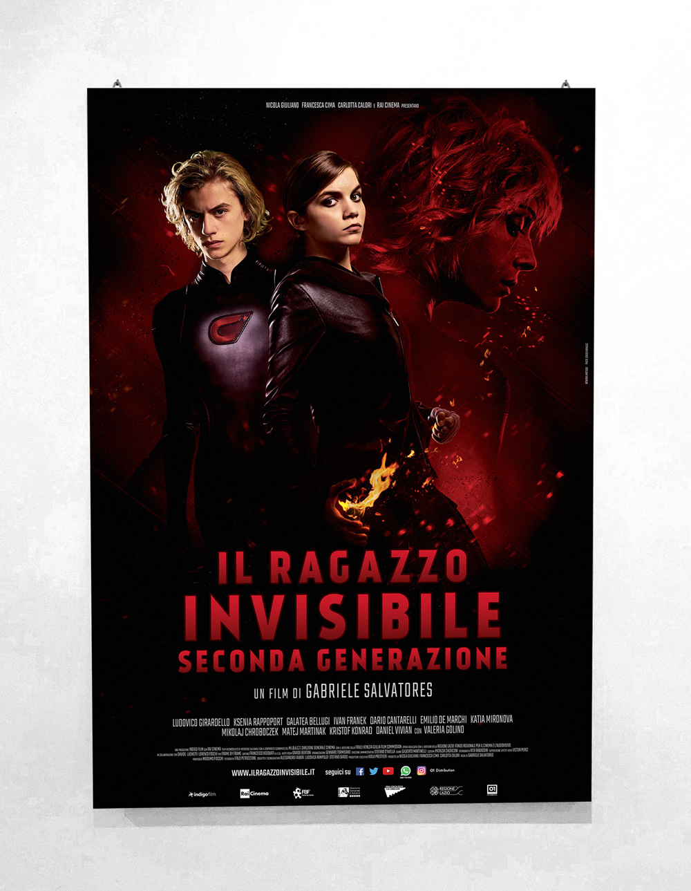 Il Ragazzo Invisibile 2 - Directed by Gabriele Salvatores - Official Poster