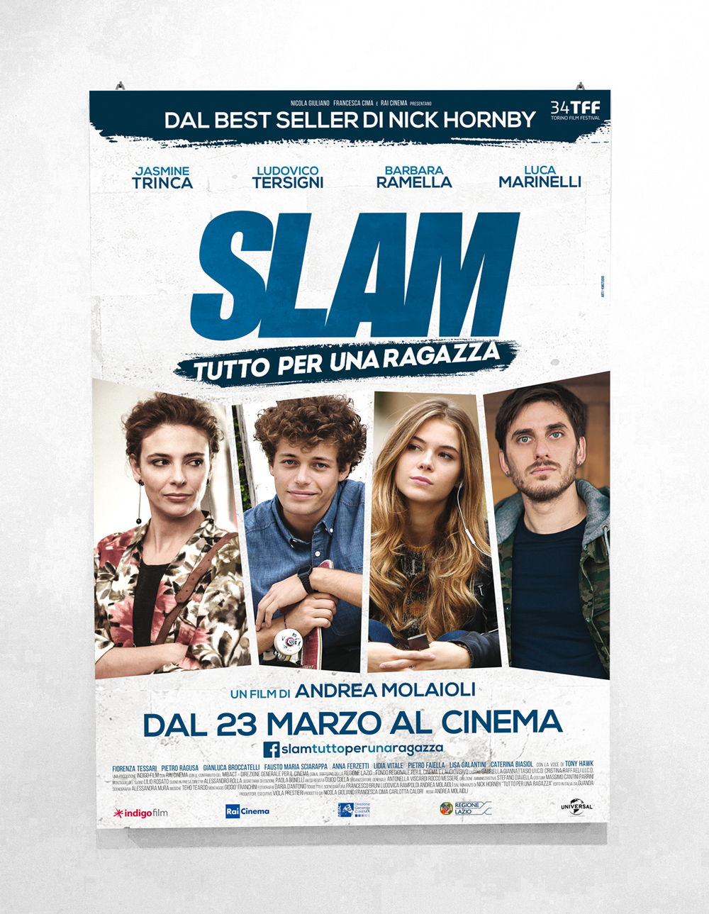 SLAM - Directed by Andrea Molaioli - Official Poster