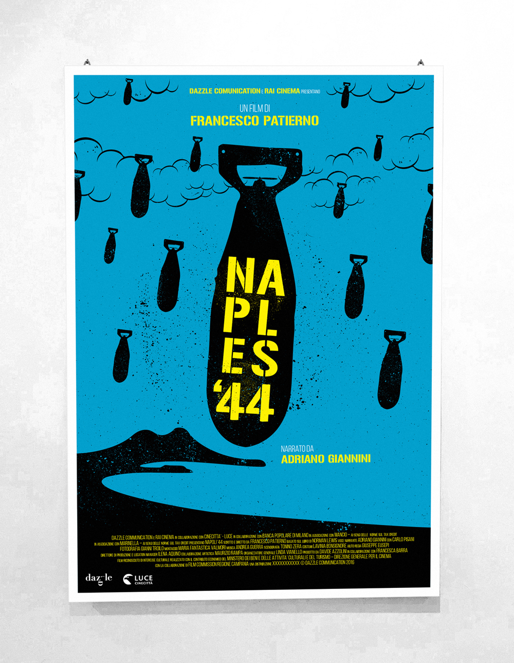 Naples '44 - Directed by Francesco Patierno - Official Italian Poster