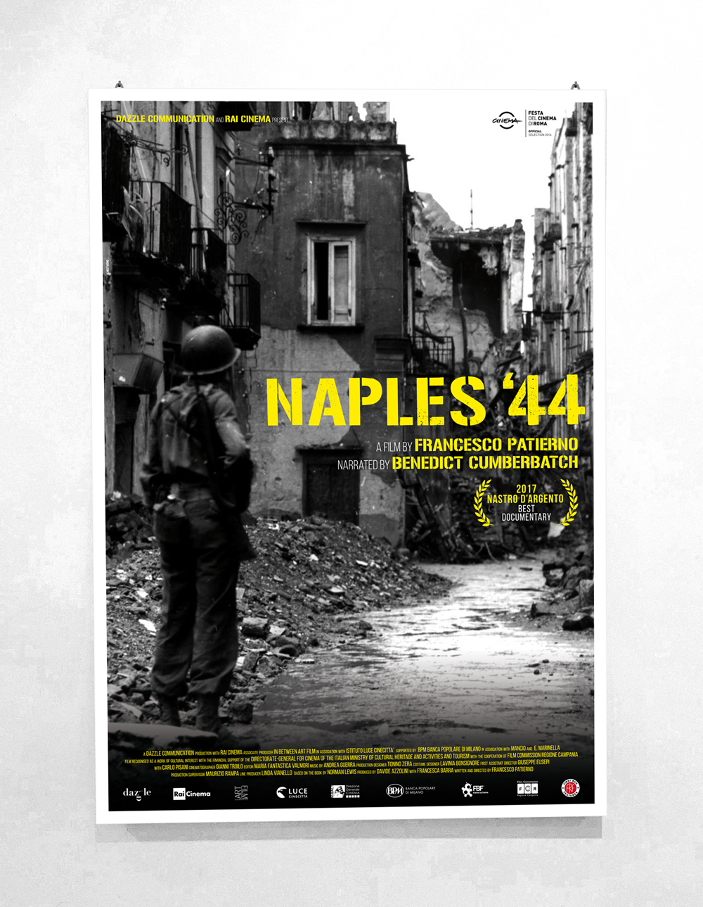 Naples '44 Naples '44 - Directed by Francesco Patierno - Official North America Poster