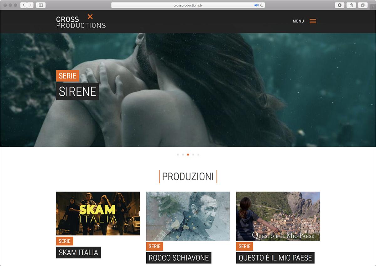 Cross Productions Website