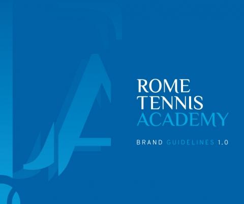 Rome Tennis Academy logo design