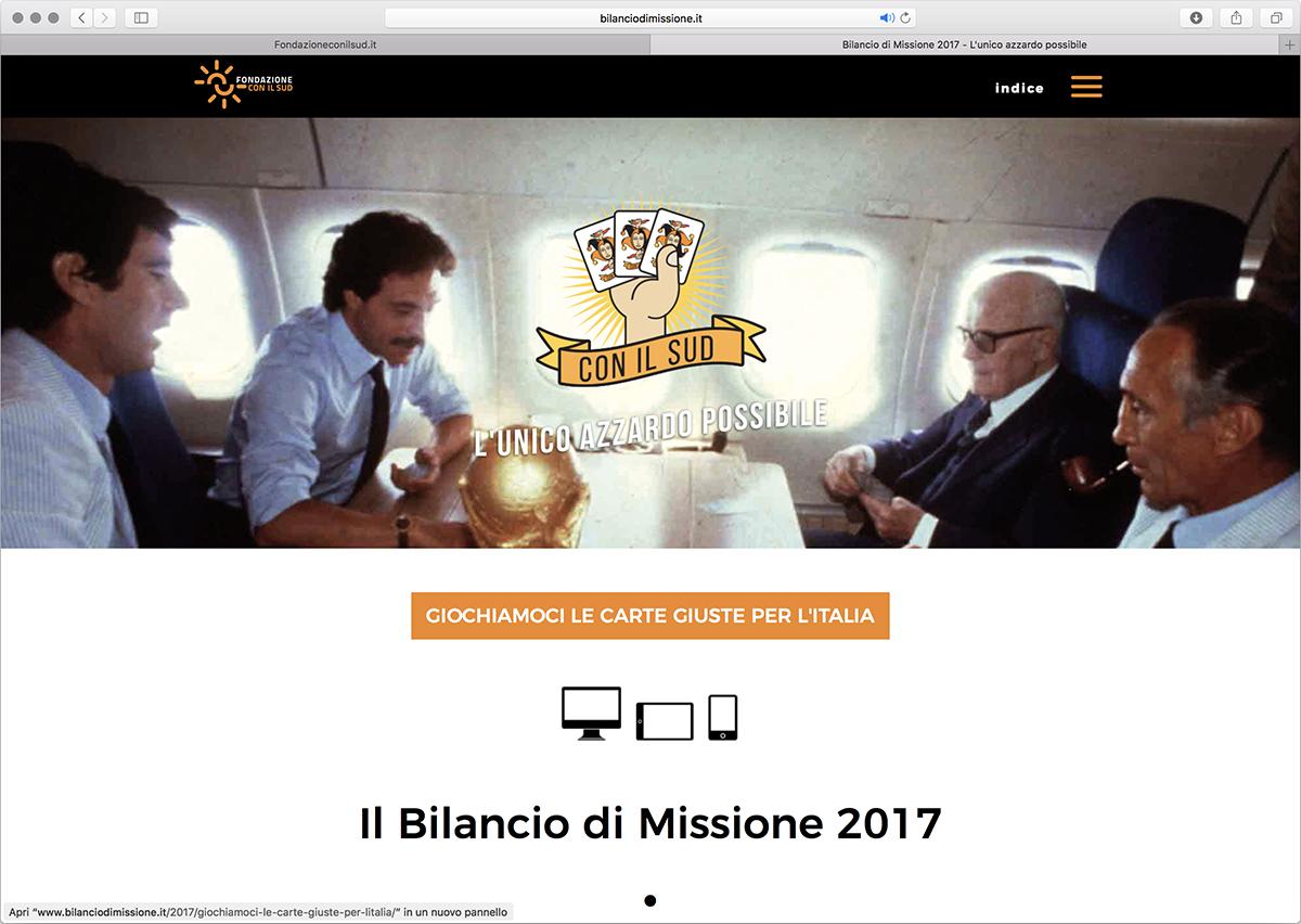 bilancio fondazione con il sud website