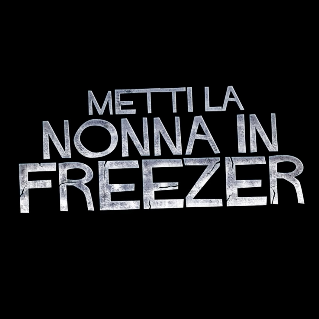 metti la nonna in freezer Giancarlo Fontana e Giuseppe G. Stasi title art direction Francesco Kurhajec