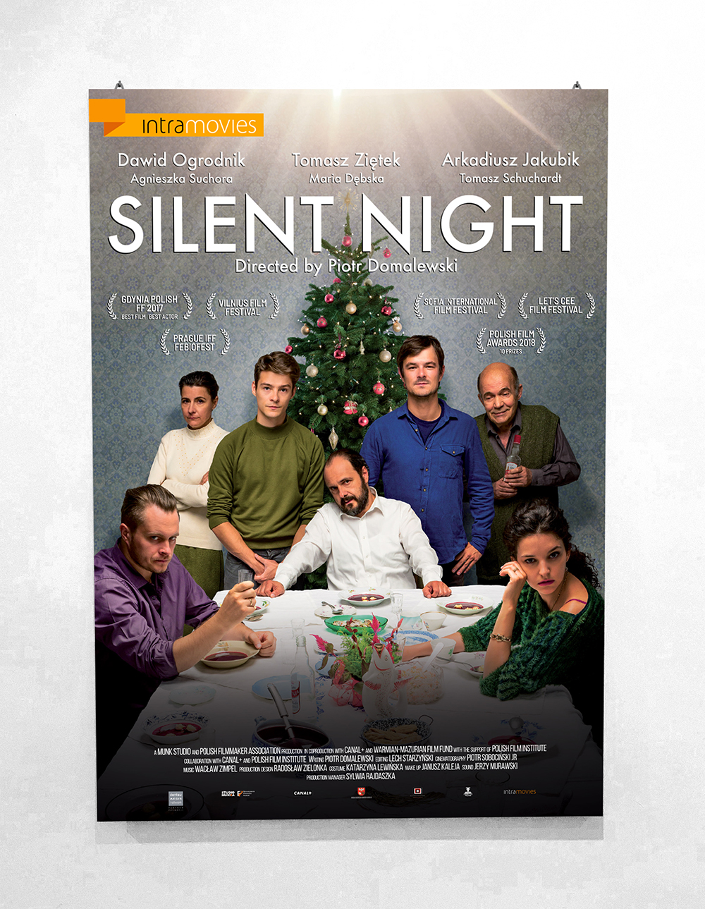 poster silent night